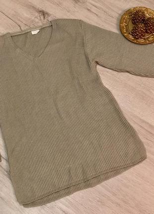 Стильный свитер базовый оверсайз