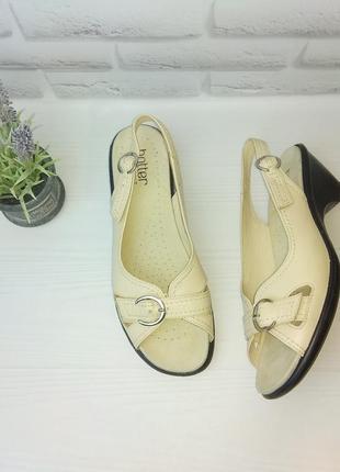 ♦️кожаные босоножки сандалии hotter р 40 сост новых англия