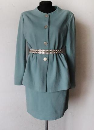 Винтажный костюм шерсть arnaud & thierry gillier paris от создателя бренда zadig&voltaire