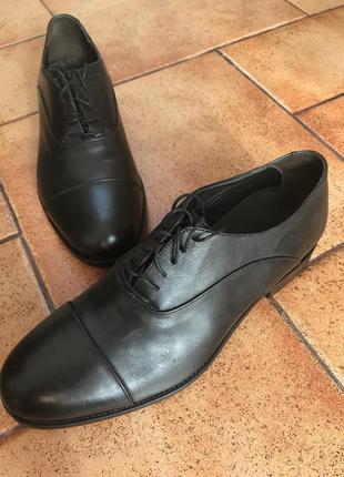 Мужские кожаные туфли il campago 42 размера