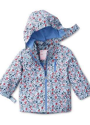 Качественная куртка-дождевик, ecorepel® от tchibo(германия), размер: 86-92
