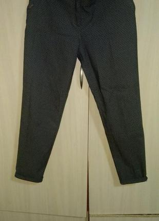 Брючный костюм брюки штаны укорочены