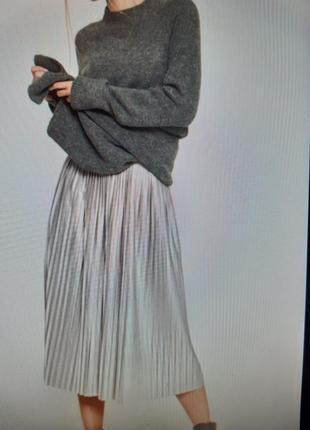# розвантажуюсь. юбка плисе серебристого цвета