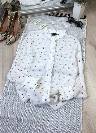 Блуза в квітковий принт new look