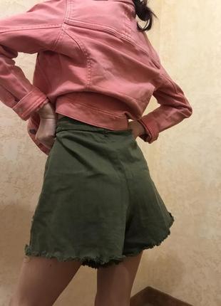 Шорты-юбка, джинсовые шорты