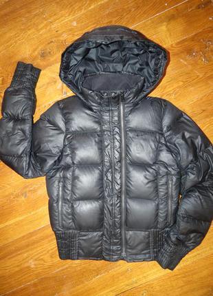 Зимний женский пуховик, куртка nike оригинал р. м