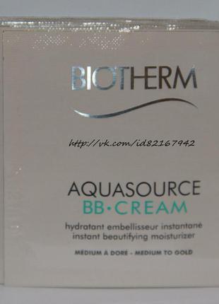 Biotherm bb-крем aquasource spf15