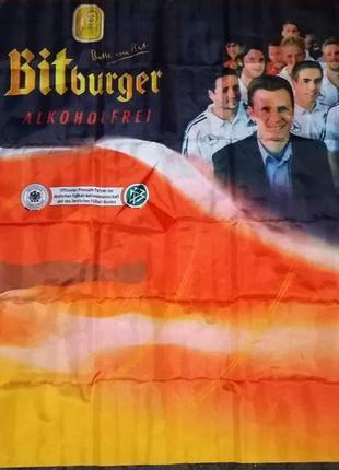 Футбольный флаг германии