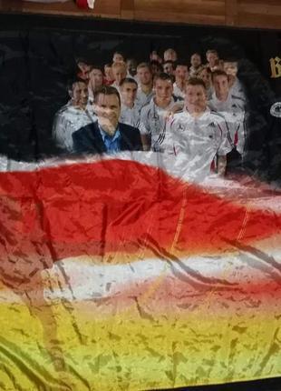 Футбольный флаг сб.германии