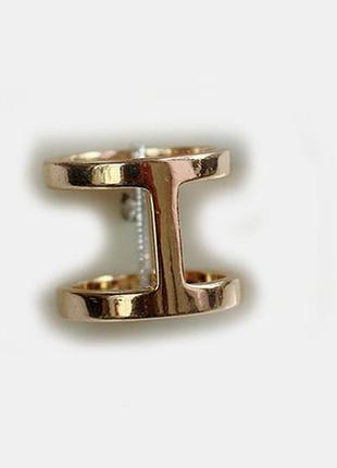 Стильное модное минималистичное кольцо line  суперцена