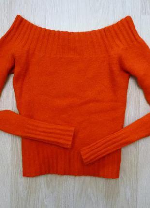 Ангоровый свитер mango