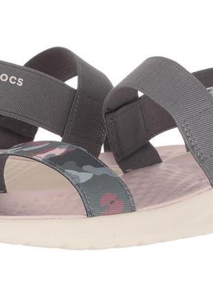 Сандалии crocs women's literide graphic sandal w7