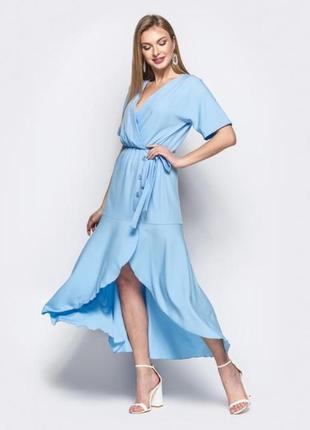 Шикарное платье на запах wanderlust amsterdam