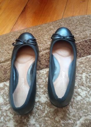 Балетки, туфлі clarks