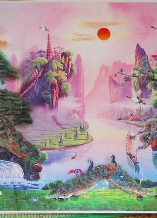 4d интерьерная картина на стену с голограммой