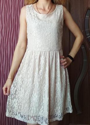 Красивое кружевное платье atmosphere
