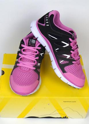 Фирменные кроссовки karrimor duma - серо-розовые