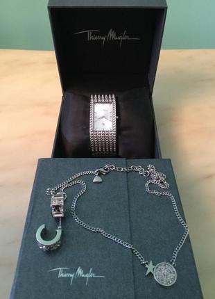 Часы- гарнитур thierry mugler