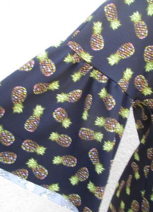 Платье в принт ананасов3 фото