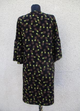 Платье в принт ананасов2 фото