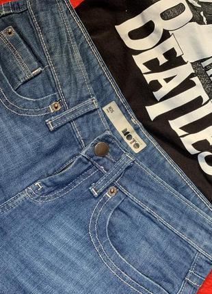 Topshop moto шорты джинсовые