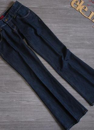 Синие джинсы клёш denim vero moda размер 27