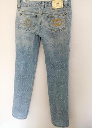 Gucci джинсы прямые 28-29