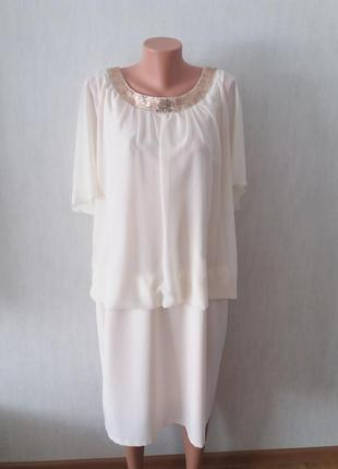 Оригинальное платье,сукня szyk collection 50
