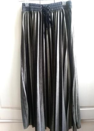 Шикарная плиссированная юбка