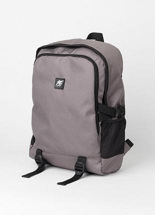 Рюкзак для ноутбука punch city grey с плотной спинкой