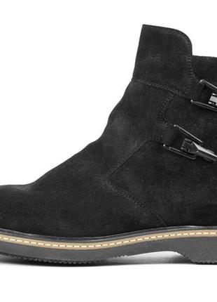 Замшевые ботинки box & co