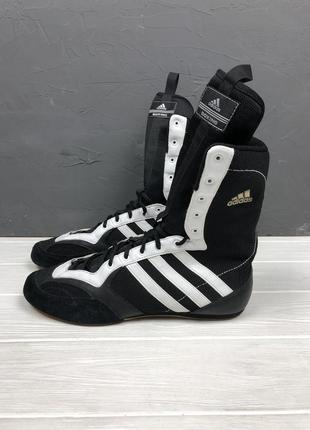 Боксерки adidas original 45 боровик чёрные идеал мужские