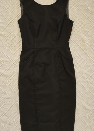 Черное платье футляр next xs-s