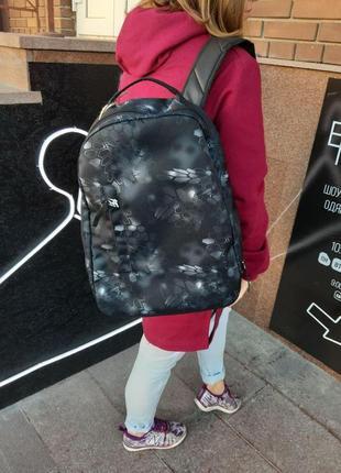 Городской черный рюкзак punch buzz kryptek typhon