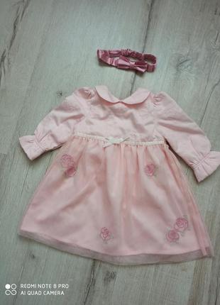 Нарядное праздничгое платье для девочки laura aschley