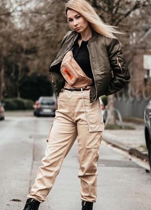 Фирменные брюки-шорты/брюки-карго/ штаны с поясом британского бренда karrimor,оригинал,l-m