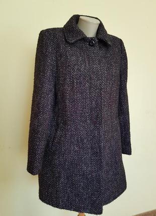 Качественное пальто весна осень с шерстью