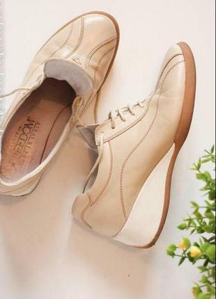Кожаные туфли оксфорды мокасины лоферы