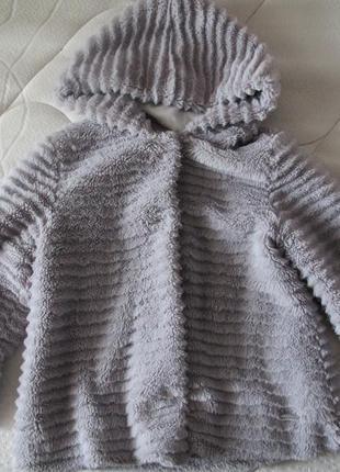 Испанская демисезонная шубка-куртка mayoral на возраст 5-6 лет