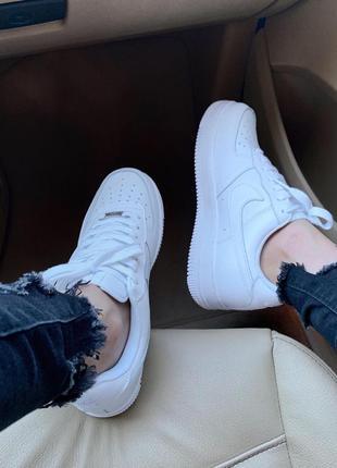 Nike air force 1 classic white ♦ женские кроссовки ♦ весна лето осень2 фото