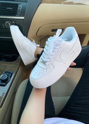 Nike air force 1 classic white ♦ женские кроссовки ♦ весна лето осень4 фото