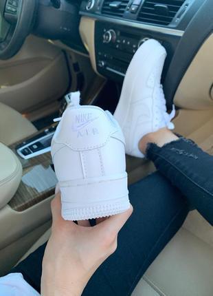 Nike air force 1 classic white ♦ женские кроссовки ♦ весна лето осень5 фото