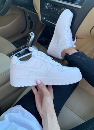 Nike air force 1 classic white ♦ женские кроссовки ♦ весна лето осень7 фото