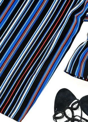 Красивая и стильная блуза в горизонтальную полоску2 фото