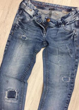 Крутые узкие джинсы скинни river island