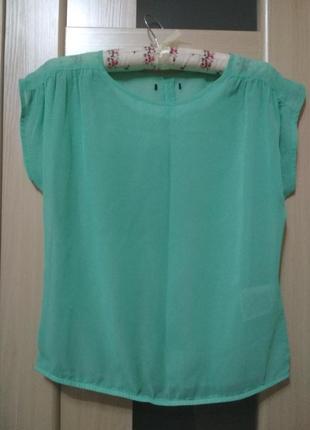 #розвантажуюсь блуза, кофта мятная