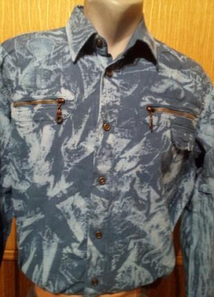 Коттоновая натуральная рубашка варенка фирмы rio branco