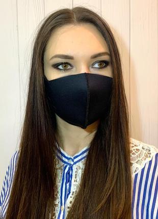 Многоразовая маска, защитная, неопрен