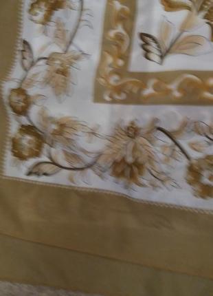 Большой платок nada беж4 фото