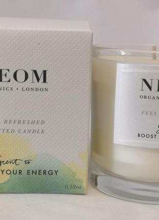 Neom feel refreshed scented candle аромосвеча , 185 гр.
